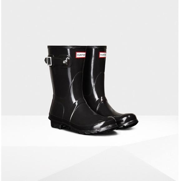 3f97753d0f4a Hunter Shoes - Women s Original Short Gloss Rain Boots